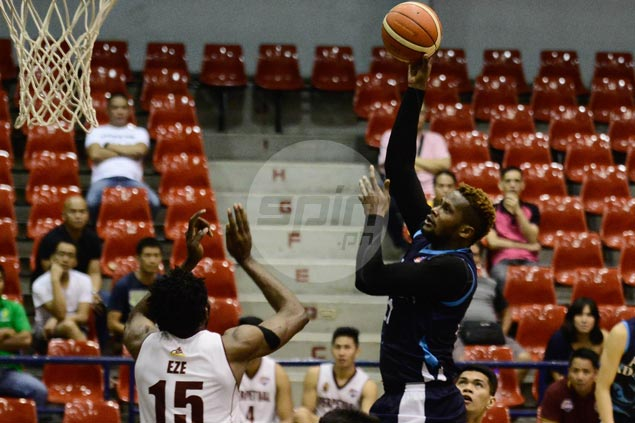 Akari-Adamson gains share of D-League lead with victory over Perpetual Altas