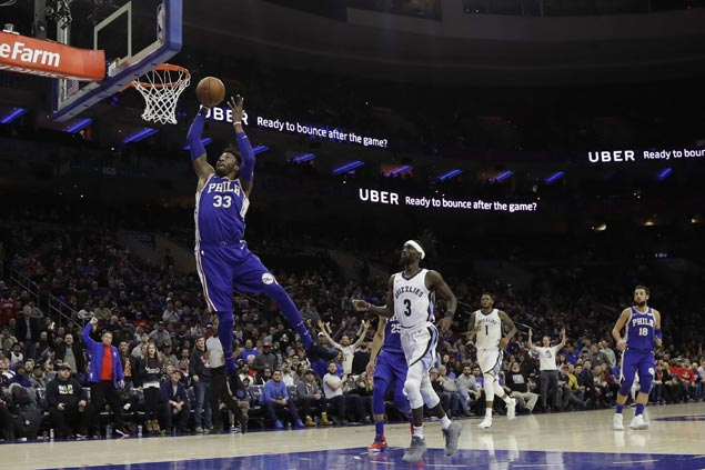 76ers boost bid for homecourt advantage in playoffs with easy win over Grizzlies