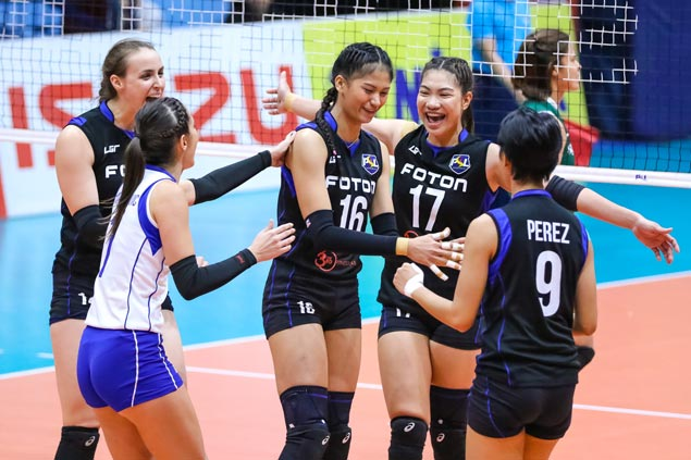 Foton overcomes Sta. Lucia to finish first round  of PSL Grand Prix elims on high note