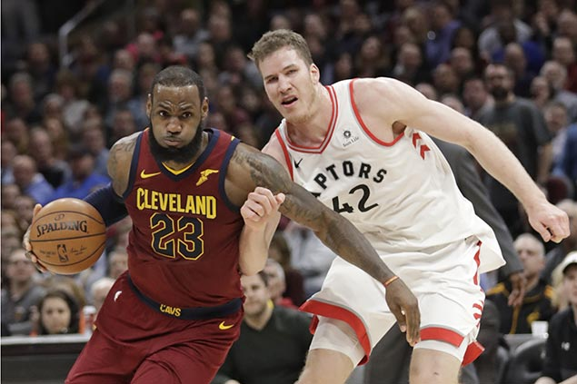 LeBron plays down depleted Cavs 'statement win' over top East team Raptors