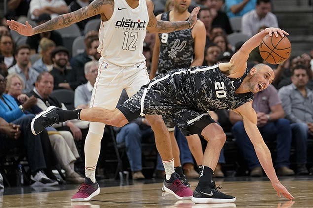 Spurs ride third quarter blitz to cruise past Wizards for fifth straight win