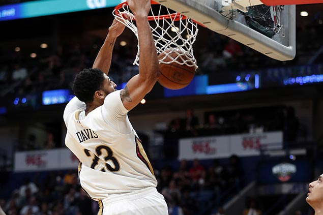 Davis, Rondo lead late rally from 11 points down in fourth as Pelicans stun Lakers