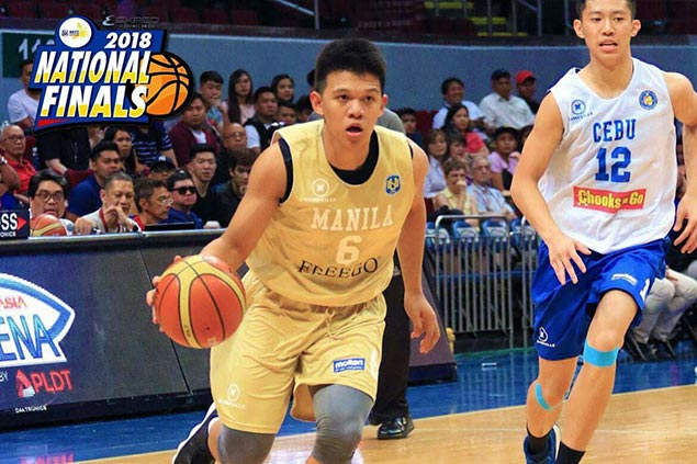 Gerry Abadiano glad to finally get groove back after transition from Adamson to NU
