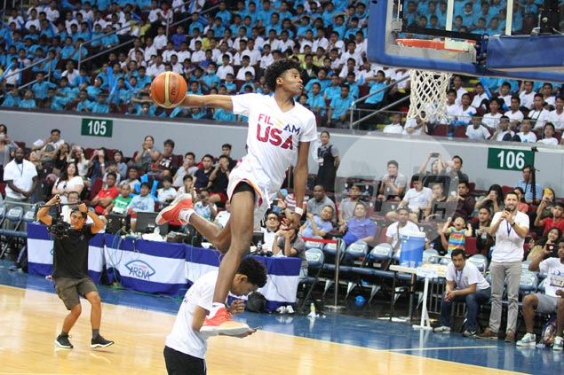 Jalen Green plays down monster dunk over Kai Sotto: 'I just wanna put on a show'