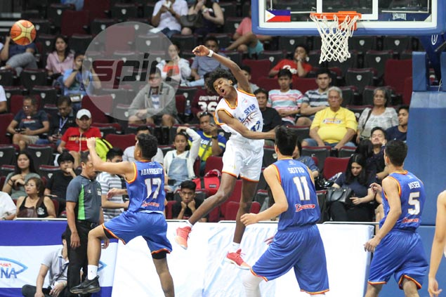 Fil-Am Jalen Green serves up NBTC All-Star Game highlight by 'posterizing' Kai Sotto