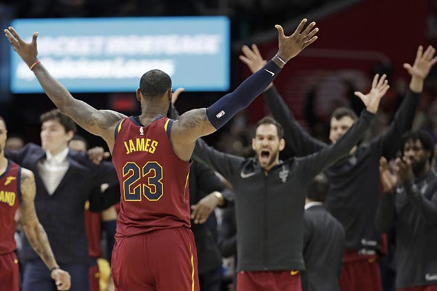 LeBron, Cavs see confidence-boosting win vs Raps the turning point in turbulent season