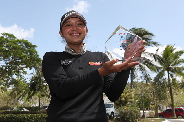 Princess Superal gears up for Symetra Tour with second LPGT victory in as many weeks