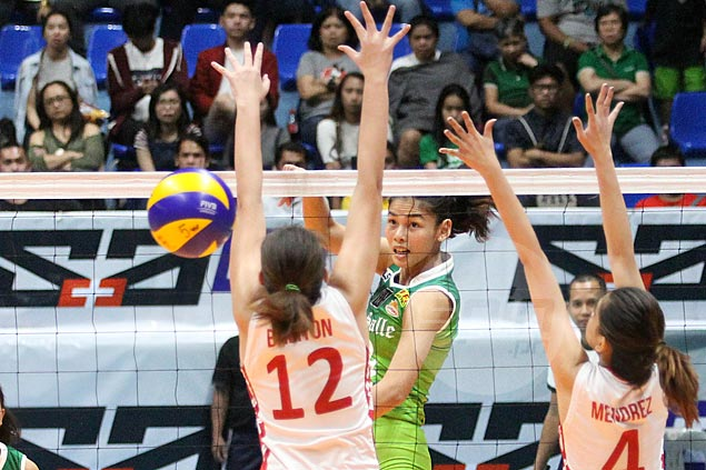 La Salle books ninth straight UAAP women's volley semis appearance as UE bows out of contention
