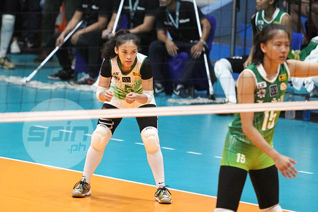 Macandili says focus on La Salle title quest, not on battle for top libero with UE's Arado