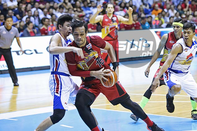 Turnover-prone Fajardo tips hat to Ian Sangalang, takes blame for SMB collapse
