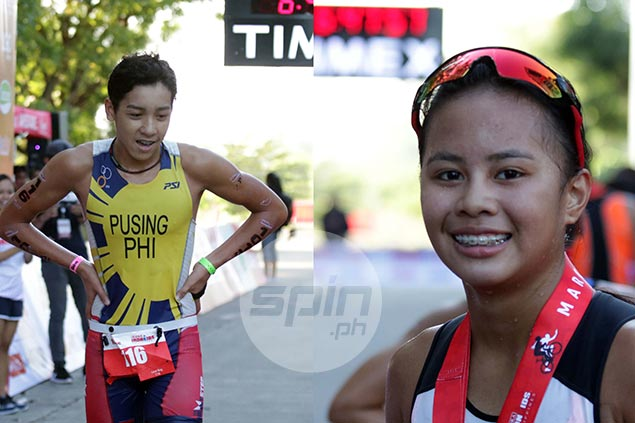 Clifford Pusing, Moira Erediano rule Ironkids 13-14 age group in Davao