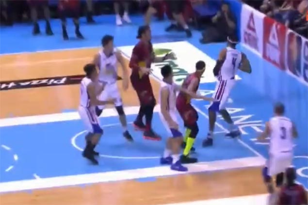 PBA admits stepping violation on Reavis the 'best call' in crucial Game One play