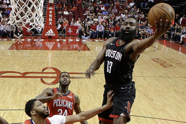 Rockets set franchise record for victories in a season at 59 with rout of Pelicans