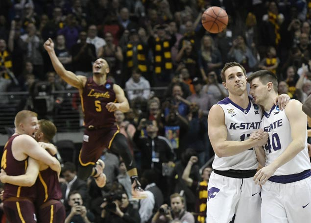 Loyola continues improbable postseason run, beats Kansas State to gain Final Four
