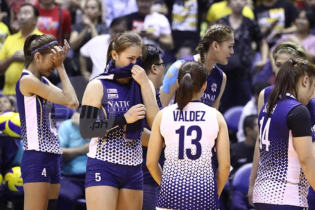 NU Lady Bulldogs break down in tears as alarming downward spiral continues