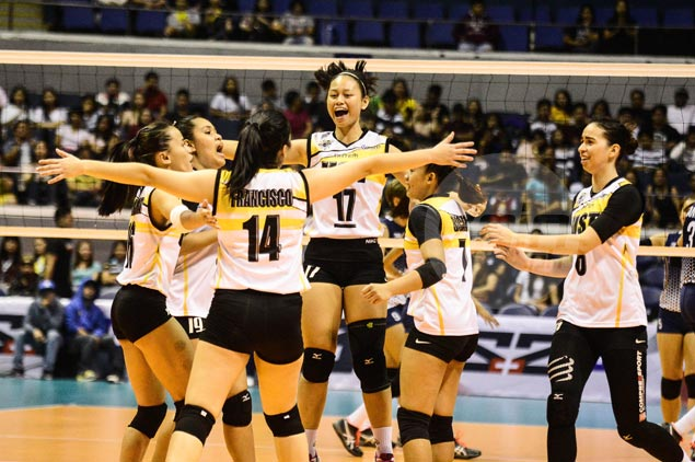 UST Tigresses fight back from a set down to send NU Lady Bulldogs to fourth straight loss