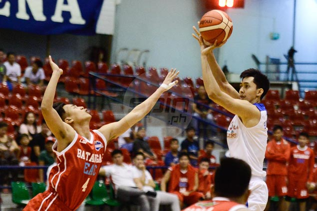 Che Lu-San Sebastian secures spot in quarterfinals with rout of also-ran EAC-Batangas