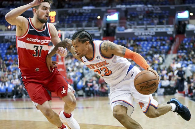 Trey Burke a thorn in side of former team as Knicks add to Wizards woes