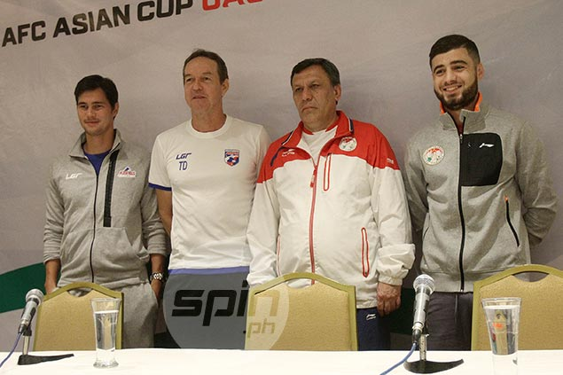 History beckons as Philippines Azkals face Tajikistan in crunch Asian Cup qualifier
