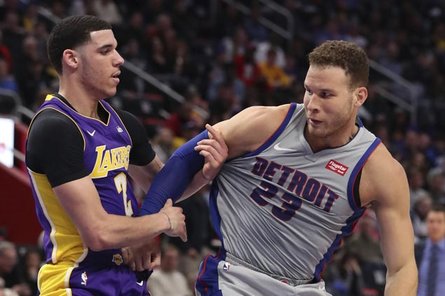 Pistons use balance attack to defeat Lakers for fourth win in five games