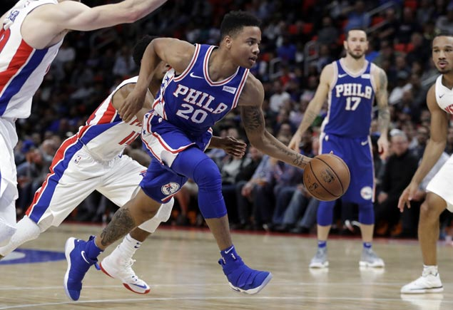 Top pick Markelle Fultz in 76ers lineup for the first time in five months
