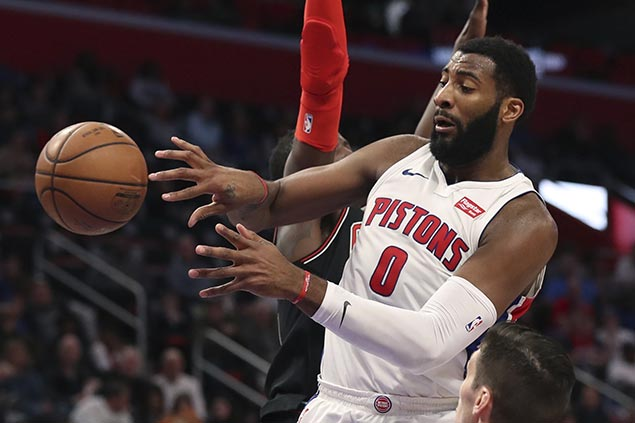 Drummond's 20-20 game powers Pistons past Wizards for third straight win