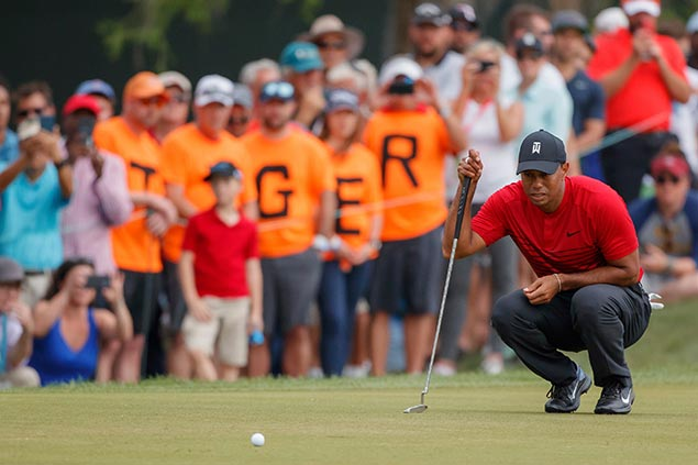 Buzz for must-see Masters grows louder with return to form of Tiger Woods
