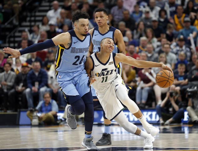Dante Exum shines as Rubio-less Jazz beat Grizzlies to boost playoff bid