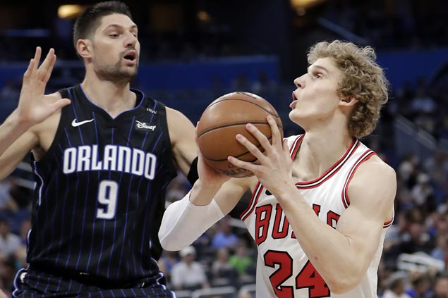 Lauri Markkanen, Sean Kilpatrick show way as Bulls beat Magic to halt seven-game skid