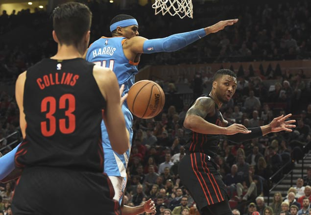 Third-running Trail Blazers dent Clippers' bid to catch up in West playoff race