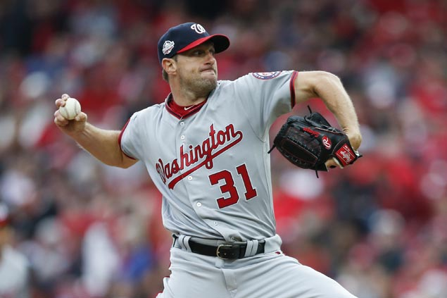 Max Scherzer Ks 10 as Nats down Reds to give Dave Martinez win in managerial debut