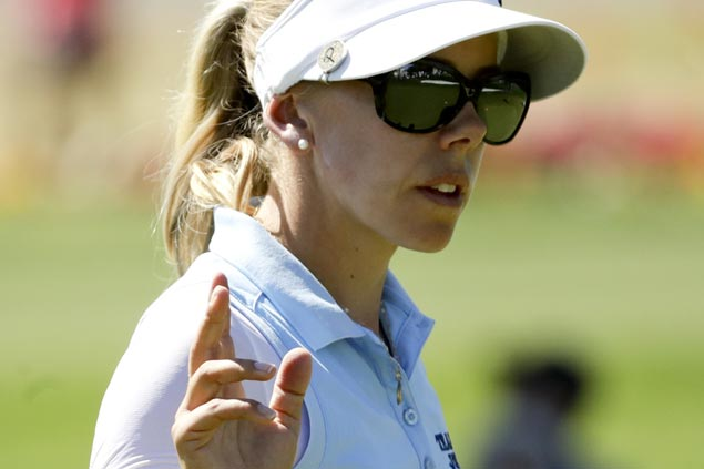 Pernilla Lindberg, Sung Hyun Park three strokes ahead of Jessica Korda after two rounds at Mission Hills