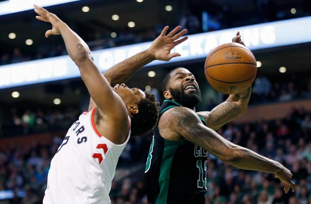 Marcus Morris takes charge as Celtics beat Raptors in battle of top Eastern Conference teams