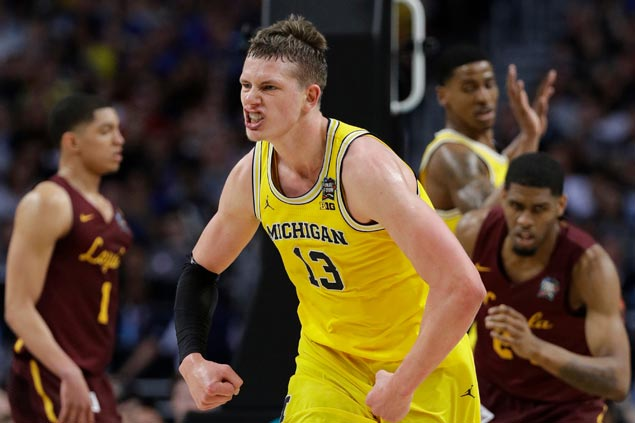 Michigan defense faces toughest test yet in 'Nova and its squadron of long-range shooters