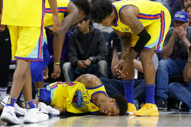 Sigh of relief for Warriors as Patrick McCaw cleared of any major injury