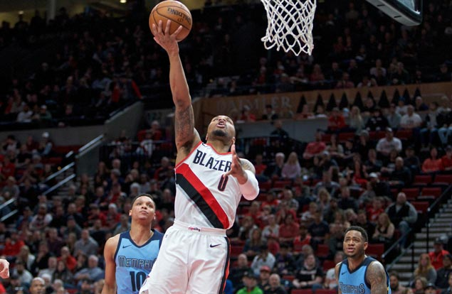 Blazers secure fifth straight playoff appearance before surviving scare from lowly Grizzlies