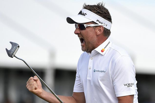 Clutch putts earn Ian Poulter victory in Texas and spot at Augusta National