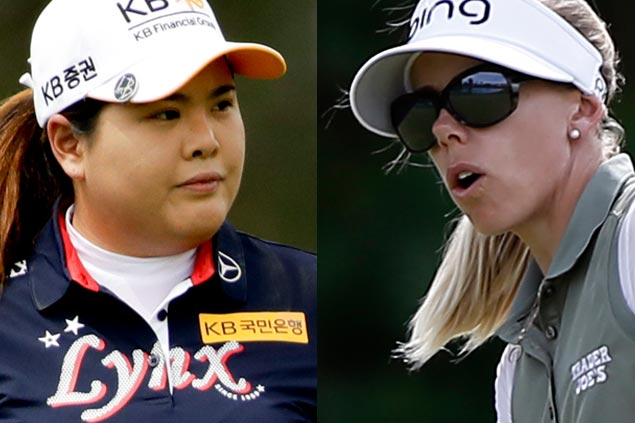 Tied after four extra holes, Inbee Park and Pernilla Lindberg need another day to finish ANA playoff