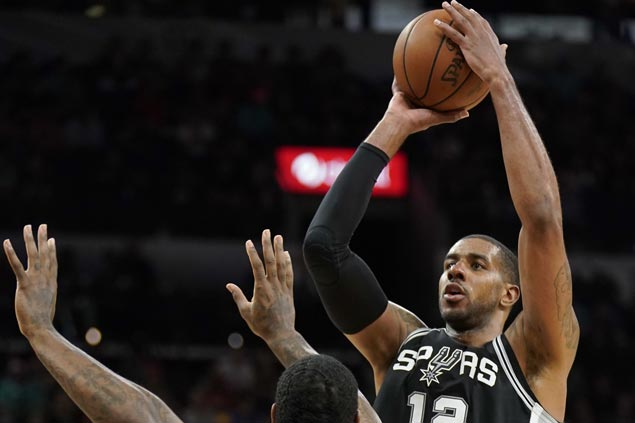 Spurs hold down Rockets to lowest output of season, keep fourth spot in the West