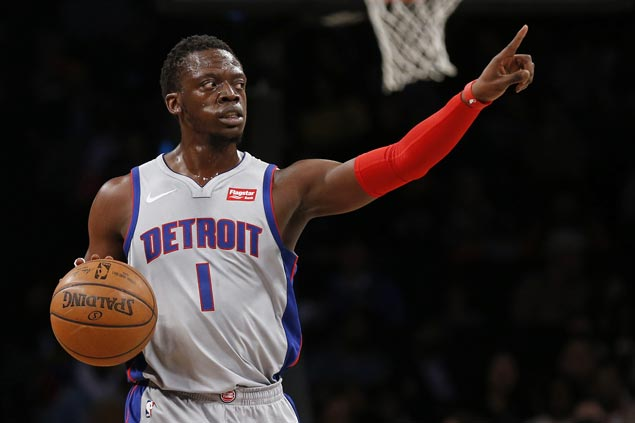 Jackson takes charge after Drummond ejection as Pistons beat Nets to keep playoff bid alive