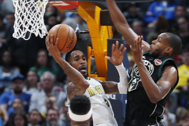 Nuggets erase eight-point deficit in final minute of regulation, beat Bucks in overtime