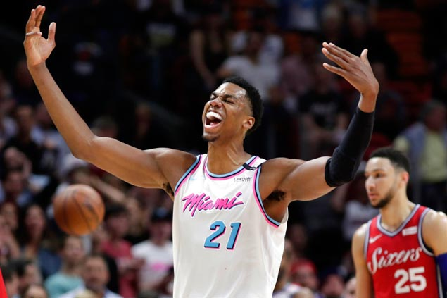 Trouble brewing in Miami as Heat slaps fine on Whiteside for rant over lack of playing time