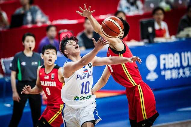 Batang Gilas holds off Malaysia in shaky start to Fiba Asia U-16 Championship campaign