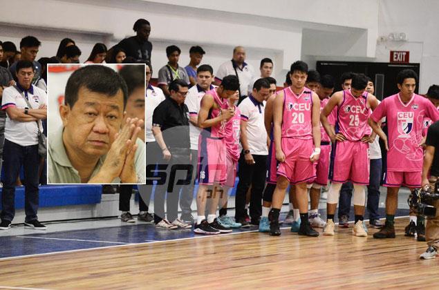 Derrick Pumaren grief-stricken over sudden passing of trusted deputy Jun Tiongco