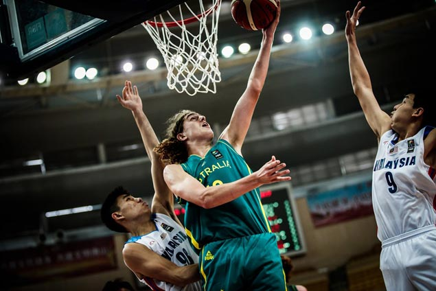 Australia scores 63-point rout of Malaysia ahead of battle with Batang Gilas