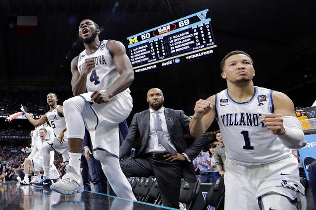 Villanova rips Michigan for second title in three seasons