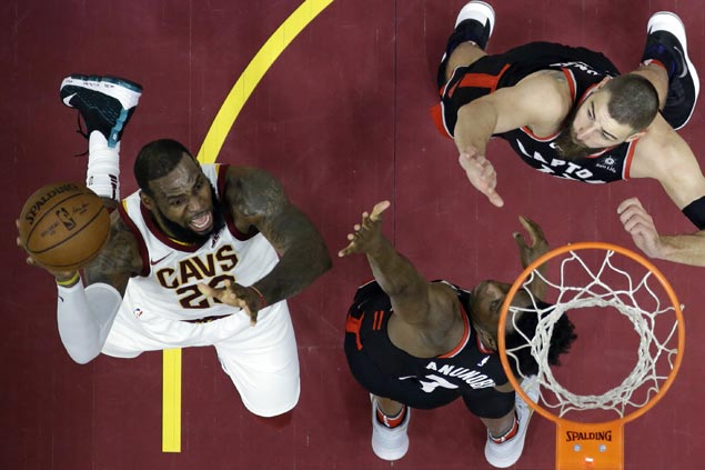 Cavaliers down East-leading Raptors for second time in as many weeks