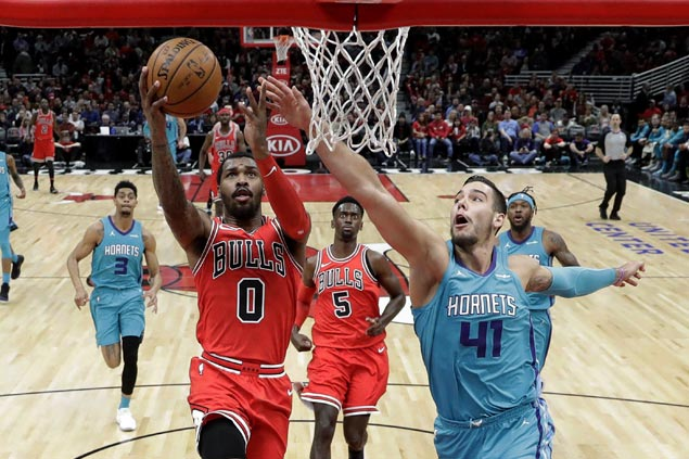 Markkanen, Kilpatrick star as Bulls stretch streak to three, send Hornets to fourth straight loss