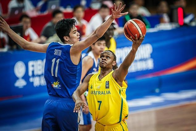 Australia deals cold-shooting Batang Gilas a 30-point beatdown in Fiba Asia U16