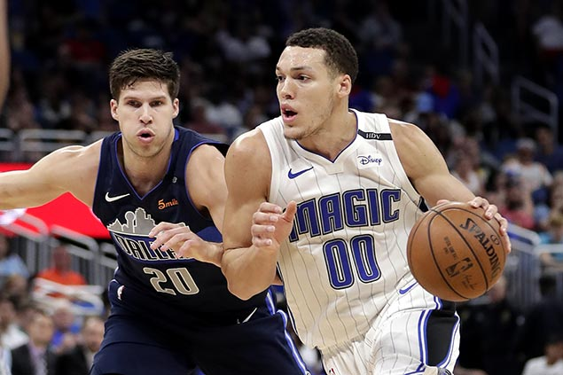 Aaron Gordon starts strong then sits late to watch Magic bench hold off depleted Mavs